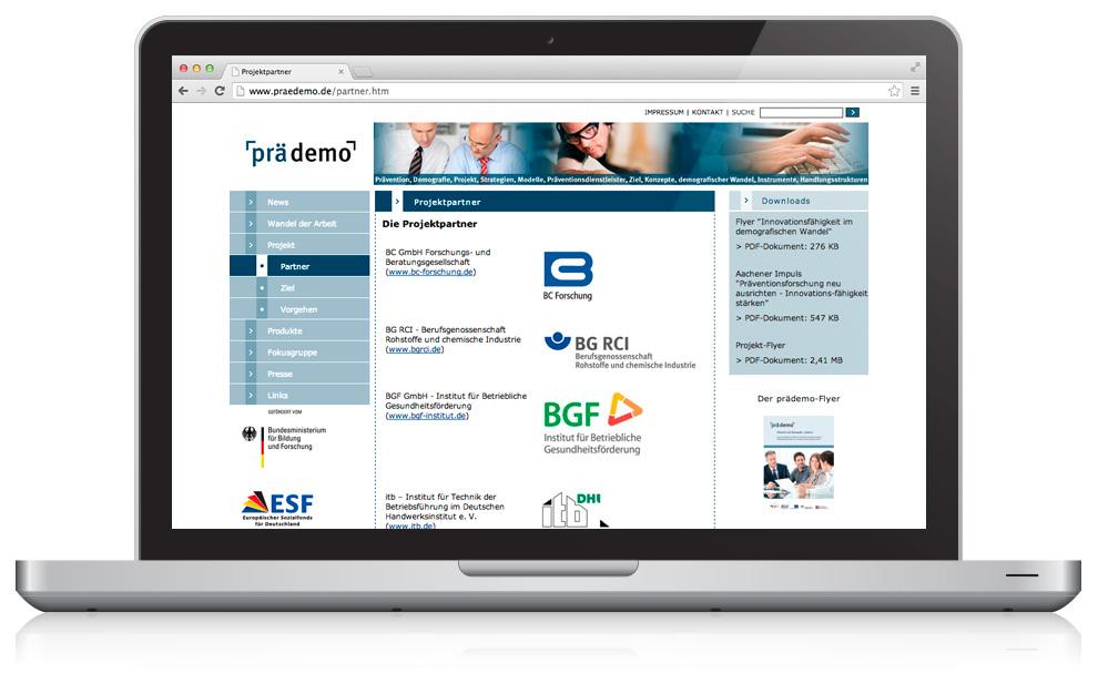 3_Webseite_praedemo_Partner_Detail_freistil_fruehwacht_mediengestaltung_wiesbaden