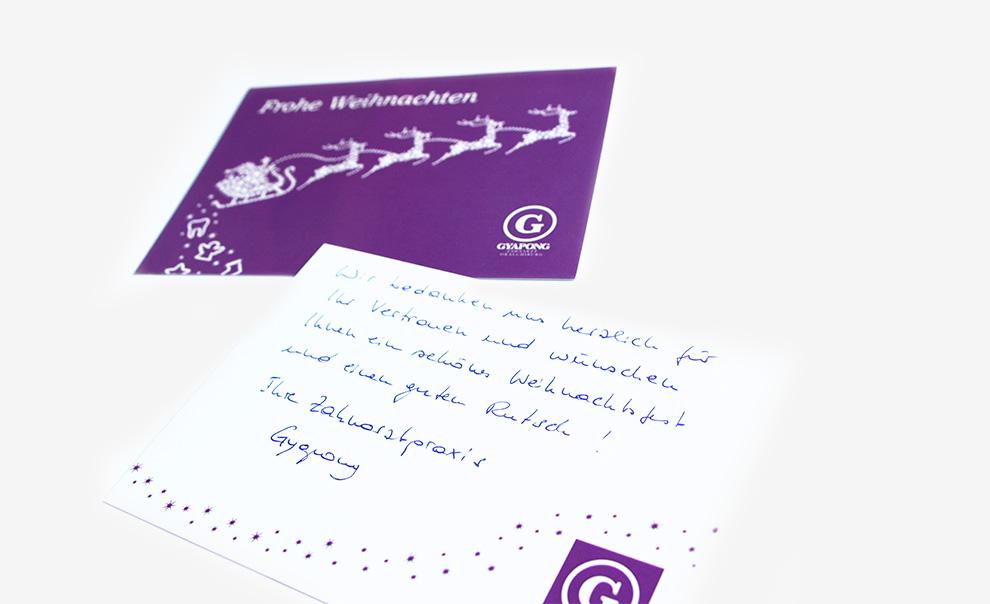 2_weihnachtskarte_gyapong_zahnarztpraxis_Detail_freistil_fruehwacht_mediengestaltung_wiesbaden