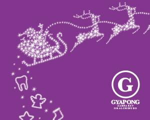 Zahnarztpraxis Gyapong | Weihnachtskarte